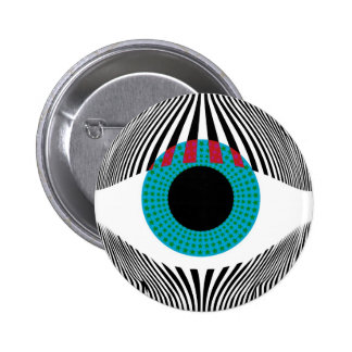 Look at my eyes pinback button