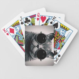 Look at my poker face , cat card decks
