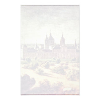Look At The Escorial Monastery By Houasse Michel-A Stationery