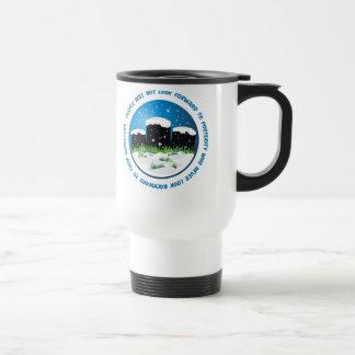 Look Backward To Ancestors 15 Oz Stainless Steel Travel Mug