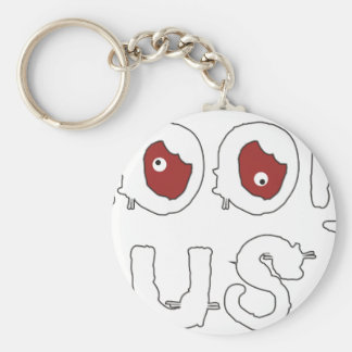 LOOK BUSY KEYCHAIN