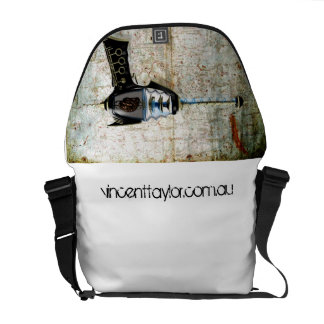 Look cool AND carry stuff. Courier Bag
