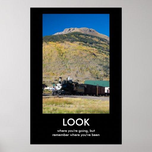 Look Demotivational Poster