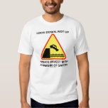 Look Down, Not Up Always Invest Margin Of Safety T Shirt