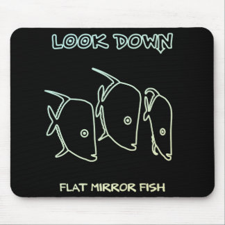 < Look down (white system) >Look Down (light Mouse Pad