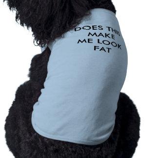 LOOK FAT DOG T-SHIRT