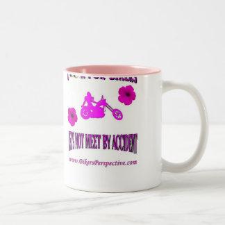Look for Bikers Ladies Flower Mug