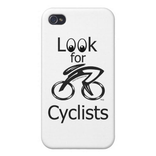 Look for cyclists iPhone 4/4S cases