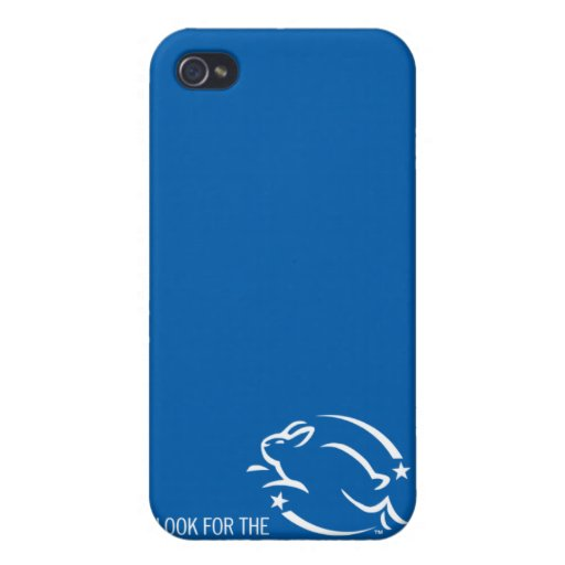 Look for the Leaping Bunny Case For iPhone 4