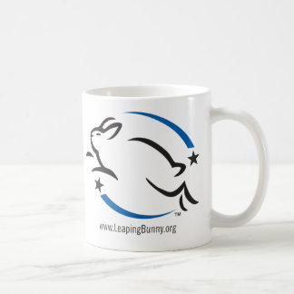 Look for the Leaping Bunny Logo Coffee Mug