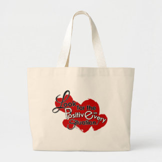 Look for the Positive Large Tote Bag