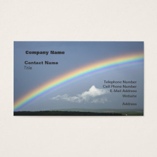 Look For The Rainbow Business Cards