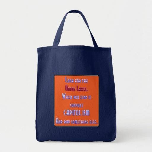 Look For The Union Label Tote Bags