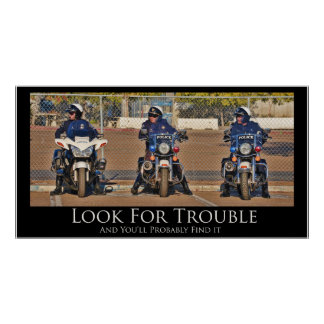 Look For Trouble Poster