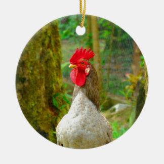 Look forward to bright successful future ceramic ornament