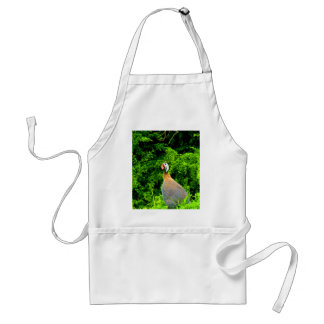 Look forward to love and joy guinea fowl guadeloup adult apron