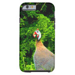 Look forward to love and joy guinea fowl guadeloup iPhone 6 case