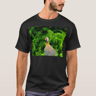 Look forward to love and joy guinea fowl guadeloup T-Shirt