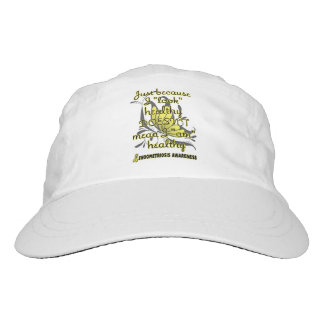 """Look"" healthy/Butterfly...Endometriosis Hat"