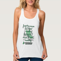 """Look"" healthy/Butterfly...Gastroparesis Tank Top"