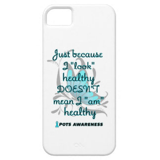 """Look"" healthy/Butterfly...P.O.T.S. iPhone SE/5/5s Case"