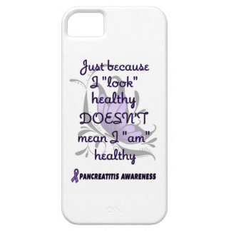 """Look"" healthy/Butterfly...Pancreatitis iPhone SE/5/5s Case"