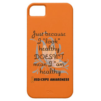 """Look"" healthy/Butterfly...RSD/CRPS iPhone SE/5/5s Case"