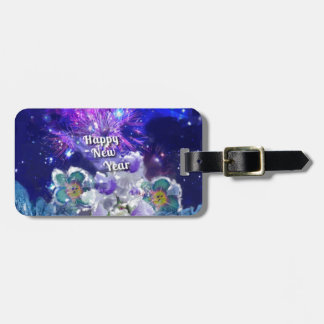Look how amazing will be the New Year Bag Tag
