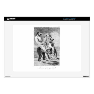 Look how solemn they are by Francisco Goya Decals For Laptops