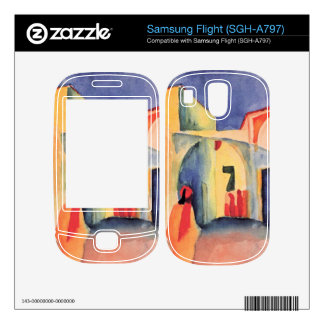 Look in a lane by August Macke Samsung Flight Skins