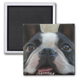 Look into my eyes 2 inch square magnet