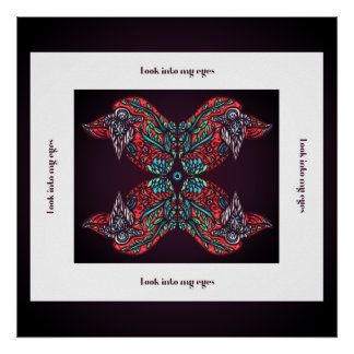 Look into my eyes Poster