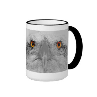 Look into my eyes ringer coffee mug