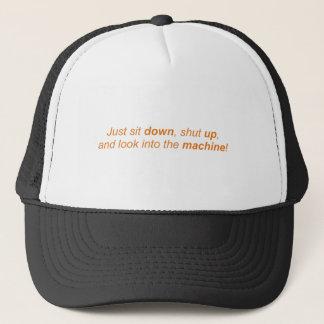 Look into the Machine Trucker Hat