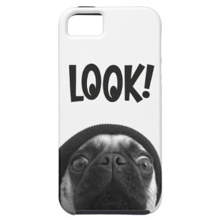LOOK it's Lola the Pug iPhone 5 Cover