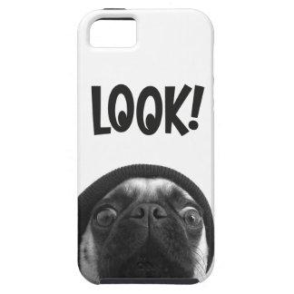 LOOK it's Lola the Pug iPhone SE/5/5s Case