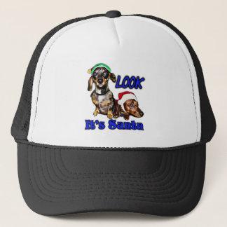 Look It's Santa Trucker Hat
