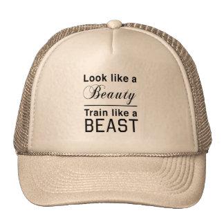 Look Like a Beauty, Train Like a Beast Trucker Hat