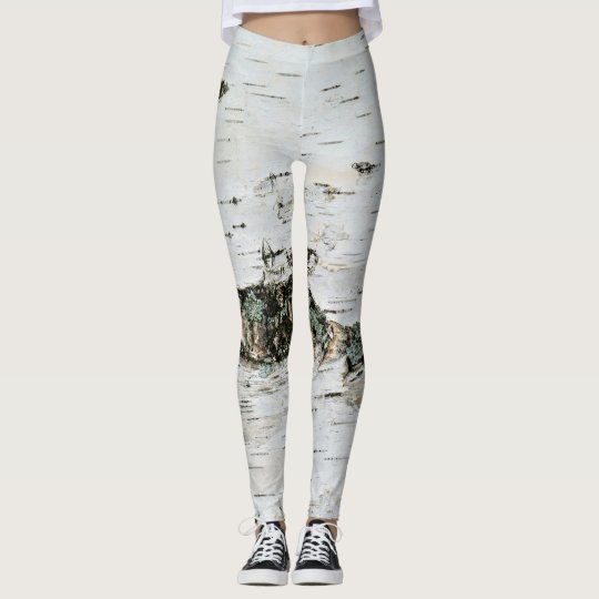 look like a tree birch wood leggings zazzle com