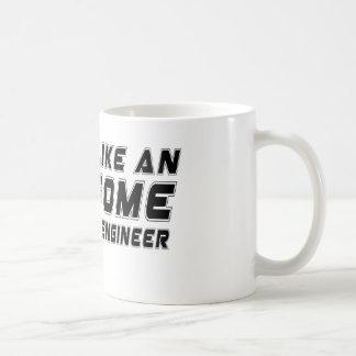 Look Like An Awesome Electrical engineer Classic White Coffee Mug