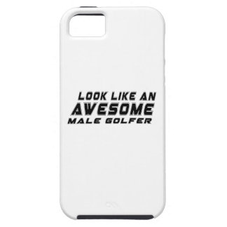 Look Like An Awesome male golfer iPhone 5 Cases