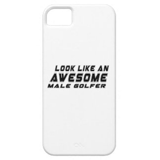 Look Like An Awesome male golfer iPhone 5 Cover