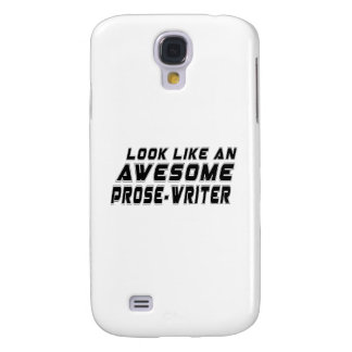 Look Like An Awesome Prose-write Galaxy S4 Cases