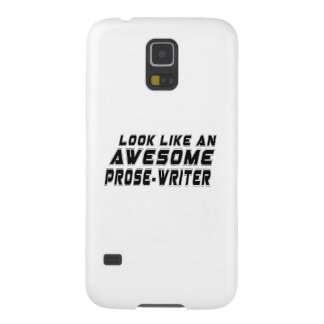 Look Like An Awesome Prose-write Galaxy S5 Cover