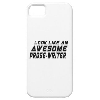 Look Like An Awesome Prose-writer iPhone 5 Cover