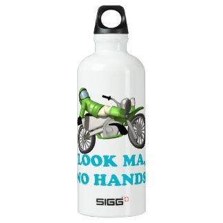 Look Ma No Hands Aluminum Water Bottle