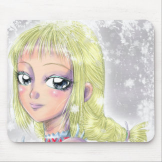 Look me in love on! mouse pad