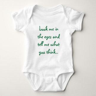 look me in the eyes baby bodysuit