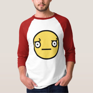 Look of Disapproval 3/4 Sleeve Raglan T Shirt