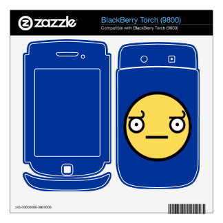 Look of Disapproval BlackBerry Torch Skin